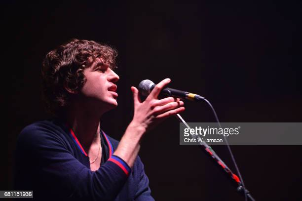 Luke Pritchard of The Kooks performs at Cambridge Corn Exchange on May 9 2017 in Cambridge Cambridgeshire