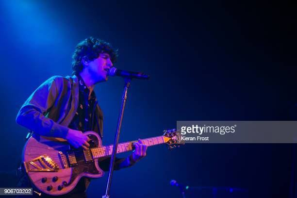 Luke Pritchard of The Kooks performs live at the Olympia Theatre on January 18 2018 in Dublin Ireland