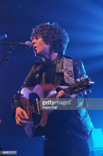 Luke Pritchard of The Kooks performs on stage at Electric Ballroom on May 8 2014 in London United Kingdom