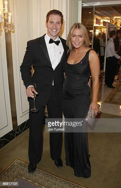 Luke Roberts and Patsy Kensit attend the TV Quick and TV Choice Awards at the Dorchester Hotel on September 03 2007 in London