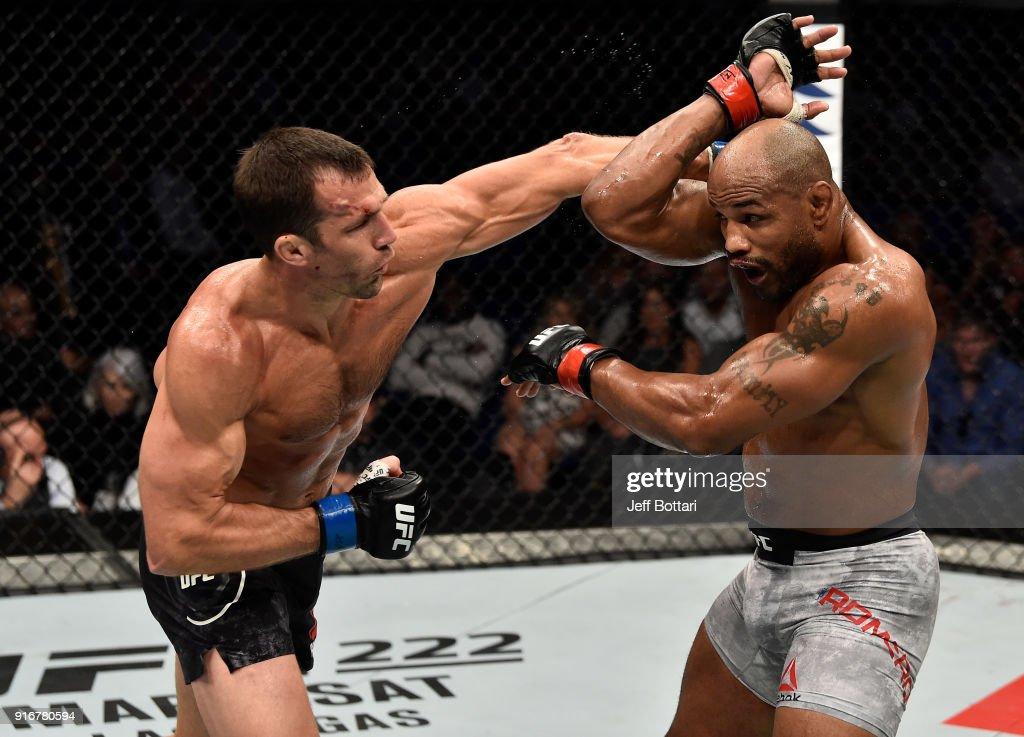 UFC 221: Romero v Rockhold : News Photo