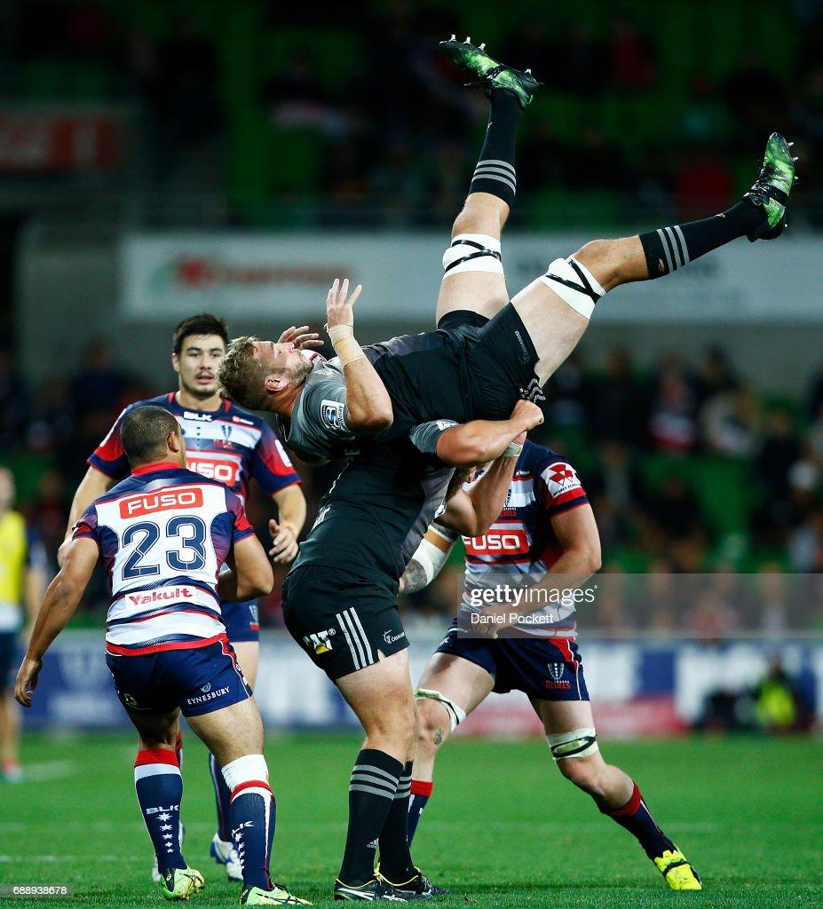 Super Rugby Rd 14 - Rebels v Crusaders