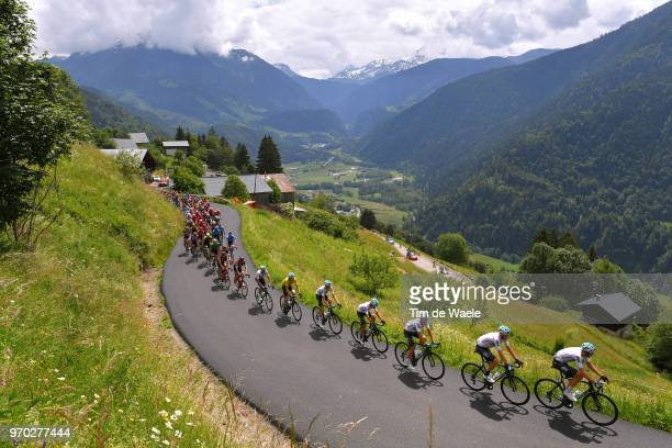 Luke Rowe of Great Britain and Team Sky / Dylan Van Baarle of The Netherlands and Team Sky / Michal Kwiatkowski of Poland and Team Sky / Jonathan...