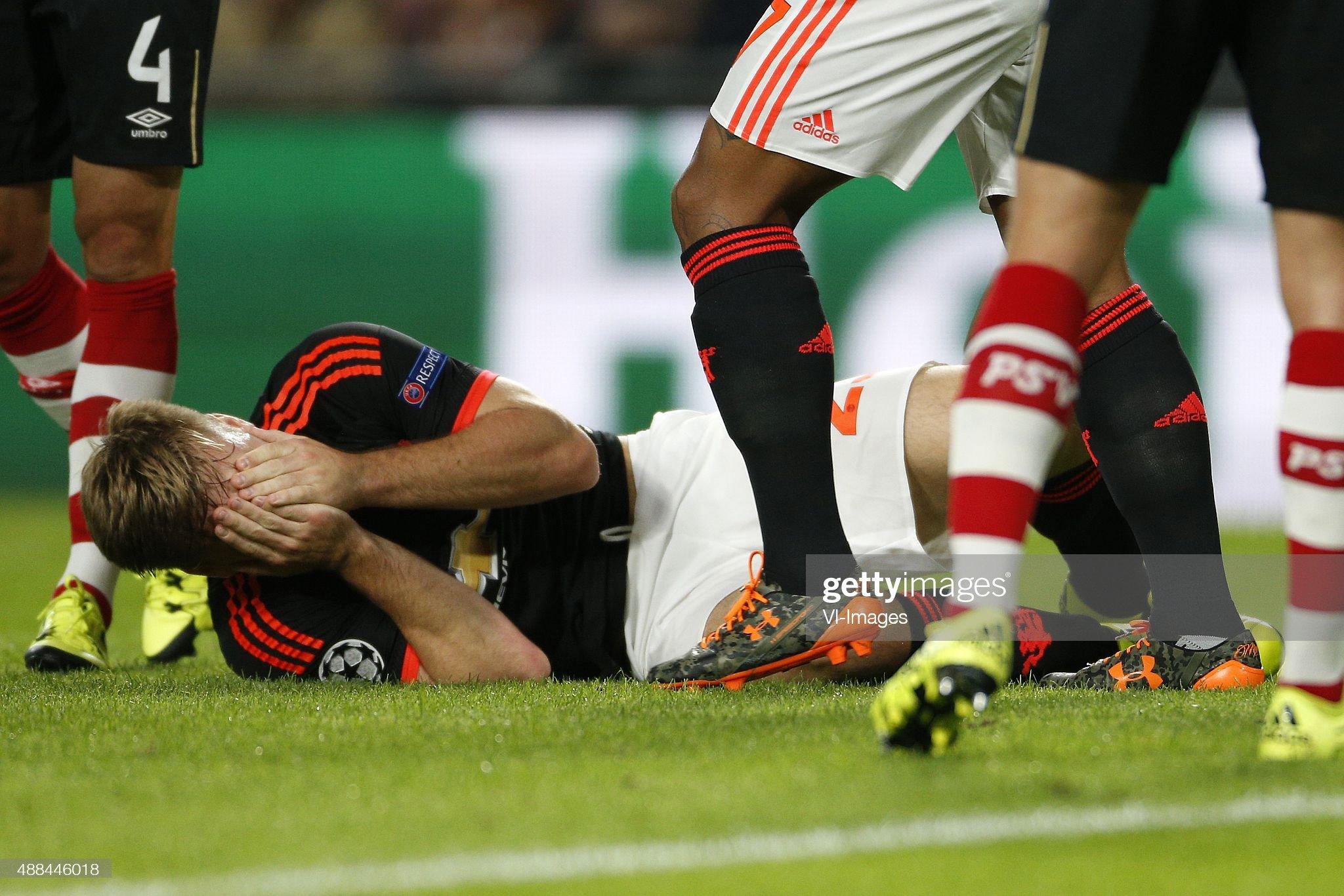 """UEFA Champions League - """"PSV Eindhoven v Manchester United"""" : News Photo"""