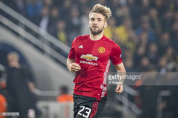 Luke Shaw of Manchester United FCuring the UEFA Europa Leaguegroup A match between Fenerbahce and Manchester United on November 3 2016 at the Sukru...