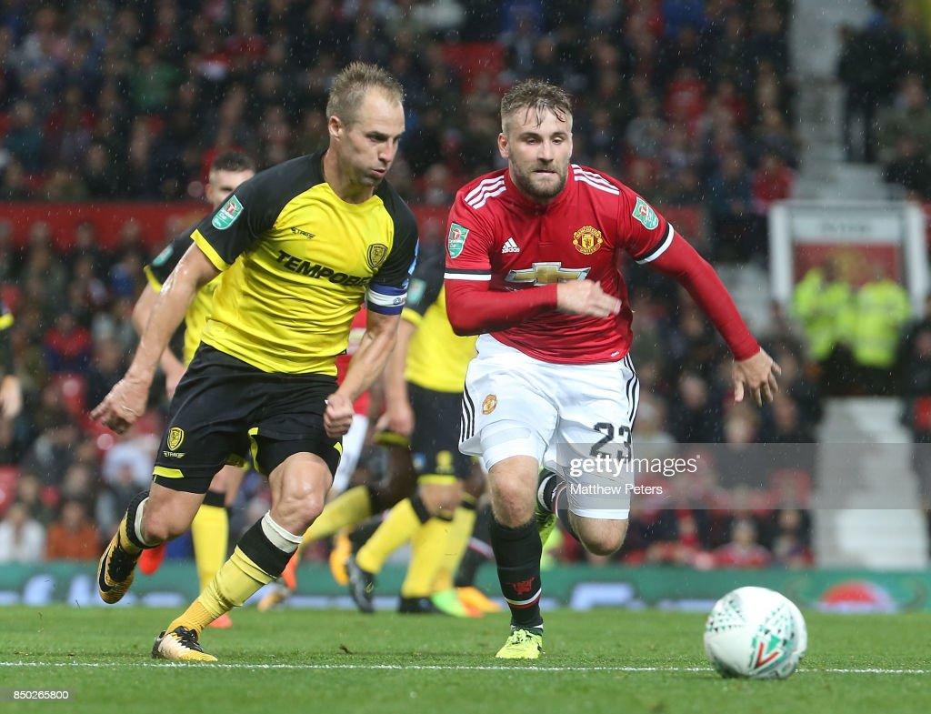 Manchester United v Burton Albion - Carabao Cup Third Round : News Photo