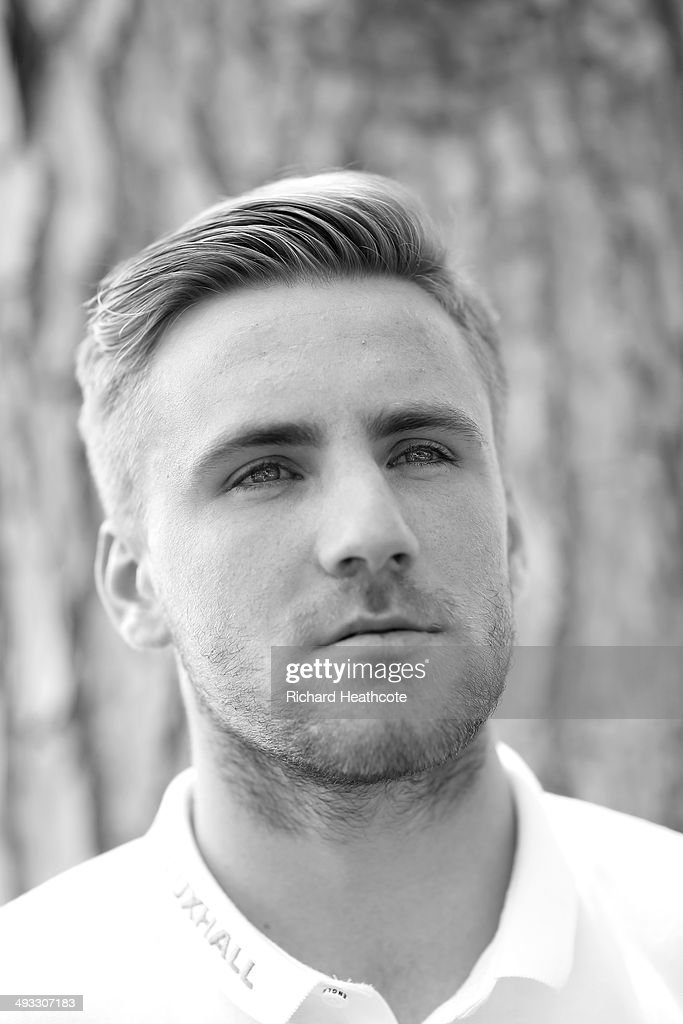 Luke Shaw poses for a picture after a press conference at the England pre-World Cup Training Camp at the Vale Do Lobo Resort on May 21, 2014 in Vale Do Lobo, Algarve, Portugal.
