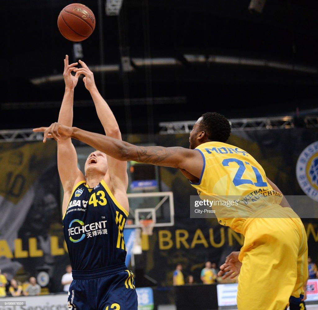 Basketball Loewen Braunschweig gegen Alba Berlin - Basketball-Bundesliga