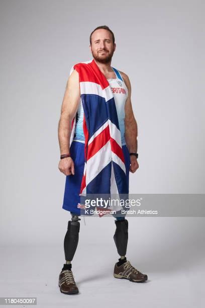 Luke Sinnott of the Great Britain & Northern Ireland Para Athletics team poses for a portrait on November 5, 2019 in Dubai, United Arab Emirates. The...