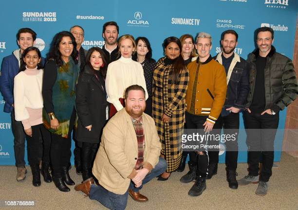 Luke Slattery Jia Patel Nisha Ganatra Howard Klein Ben Browning Amy Ryan Lesley Barber Mindy Kaling Mitchell Travers Blake DeLong Reid Scott and Paul...