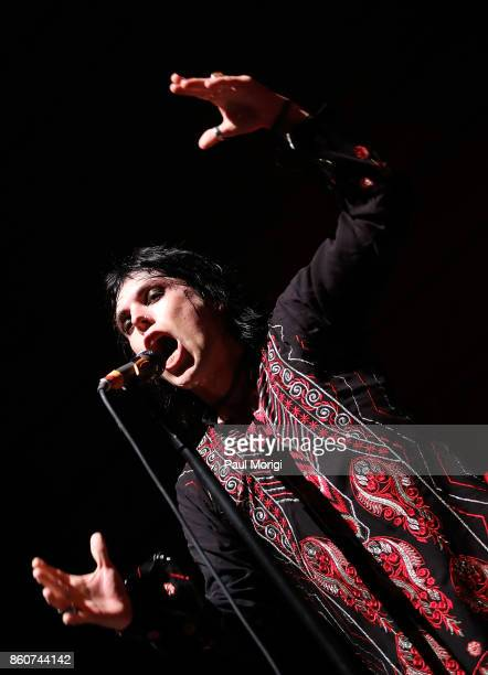 Luke Spiller of The Struts opens for Foo Fighters at The Anthem on October 12 2017 in Washington DC