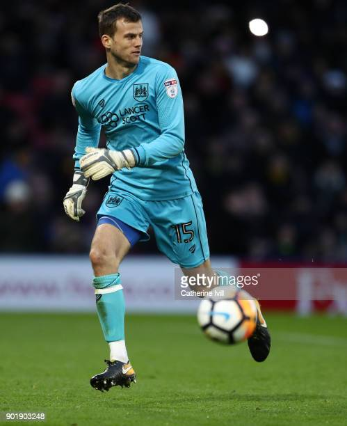 Luke Steele of Bristol City during the Emirates FA Cup Third Round match between Watford and Bristol City at Vicarage Road on January 6 2018 in...