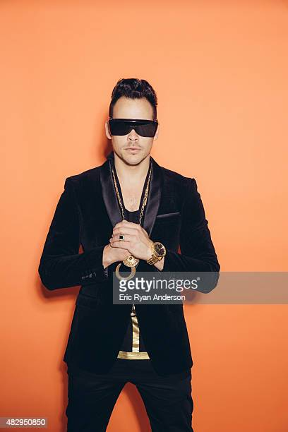 Luke Steele of Empire of the Sun poses for a portrait for Billboard Magazine on June 6 2014 in New York City