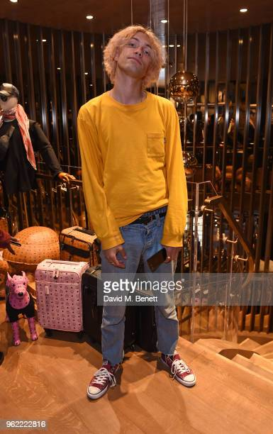 Luke Storey attends PUMA x MCM Collaboration London Launch Party in partnership with British GQ Style on May 24 2018 in London England