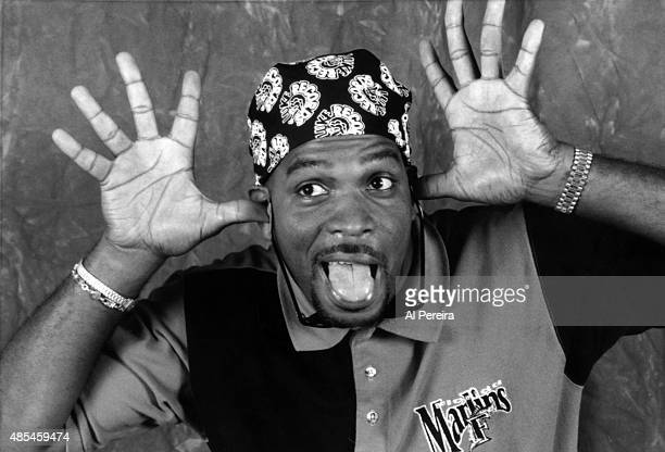 Luke Syywalker aka Luther Campbell of the rap group '2 Live Crew' poses for a portrait session in circa 1988 in New York
