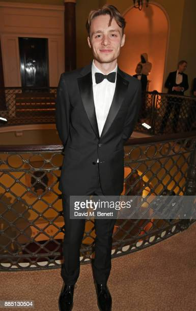 Luke Thallon attends a drinks reception ahead of the London Evening Standard Theatre Awards 2017 at the Theatre Royal Drury Lane on December 3 2017...