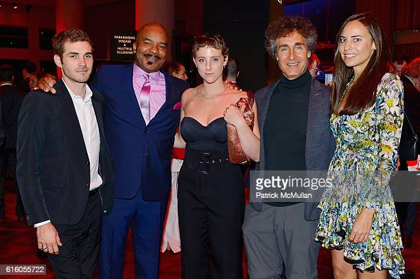 Luke Todd David Alan Grier Mia Dalton Doug Liman and Ariel Ashe attend The NYSCF Gala Science Fair at Jazz at Lincoln Center on October 20 2016 in...