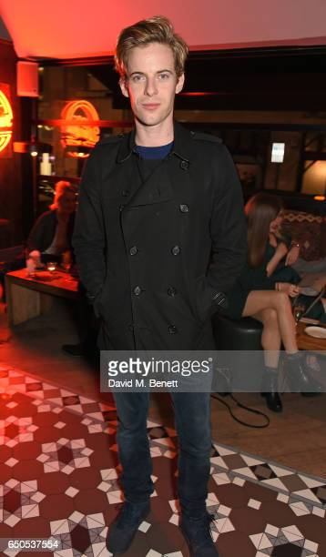 Luke Treadaway attends the press night after party for Who's Afraid Of Virginia Woolf at 100 Wardour St on March 9 2017 in London England