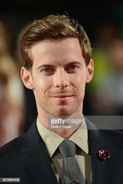 Luke Treadway attends the UK Premiere of A Street Cat Named Bob in aid of Action On Addiction on November 3 2016 in London United Kingdom