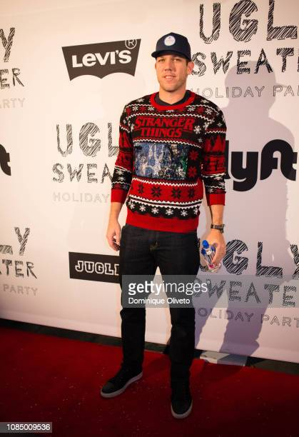 Luke Walton attends Juglife Ugly Sweater Party hosted by NBA player JaVale McGee at Levi Strauss House on December 9, 2018 in West Hollywood,...
