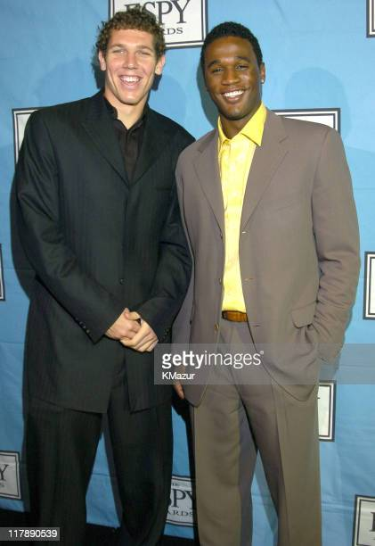 Luke Walton of the Los Angeles Lakers and Kareem Rush of the Los Angeles Lakers
