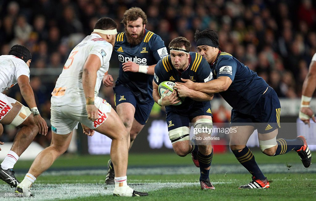 Super Rugby Rd 17 - Highlanders v Chiefs