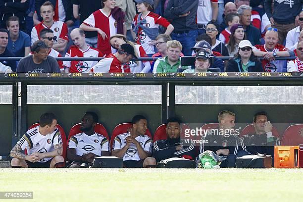 Luke Wilkshire of Feyenoord Elvis Manu of Feyenoord Tony Vilhena of Feyenoord Colin KazimRichards of Feyenoord Lucas Woudenberg of Feyenoord...