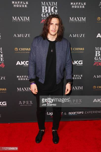 Luke Willson attends The Maxim Big Game Experience at The Fairmont on February 02 2019 in Atlanta Georgia