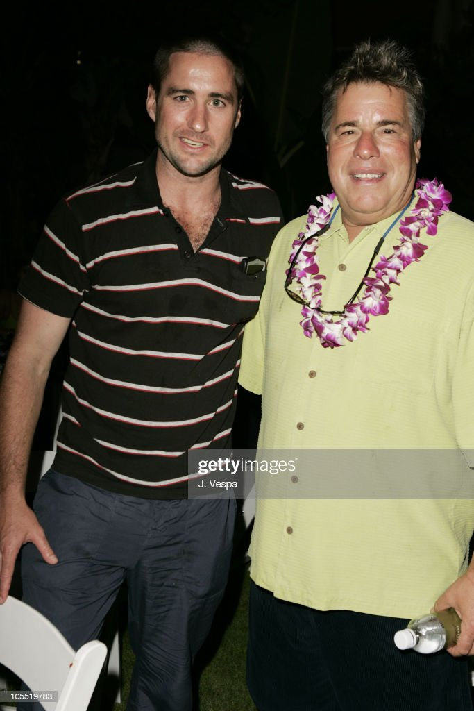 Luke Wilson and Barry Rivers during 2005 Maui Film Festival - Opening Night Twilight Reception at Fairmont Kea Lani Hotel in Maui, Hawaii, United States.