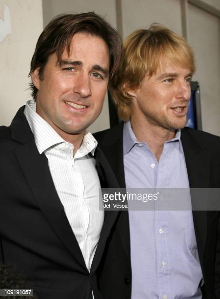 """Luke Wilson and Owen Wilson during """"The Wendell Baker Story"""" Los Angeles Premiere - Red Carpet at Writers Guild Theater in Beverly Hills, California,..."""