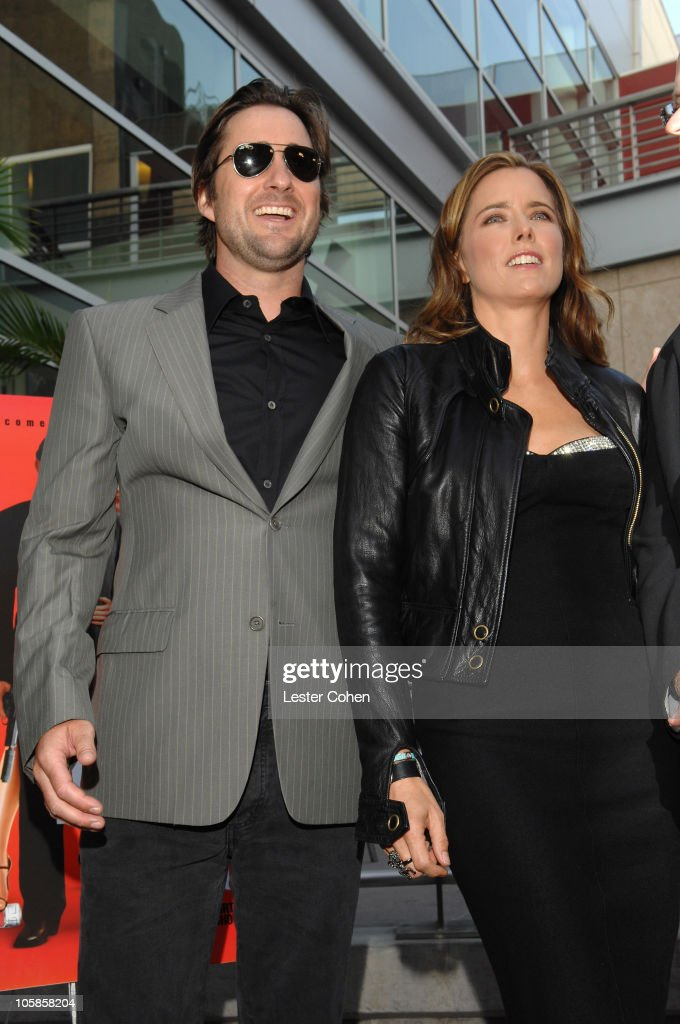 Luke Wilson and Tea Leoni during 'You Kill Me' Los Angeles Premiere - Red Carpet at ArcLight Hollywood in Hollywood, California, United States.