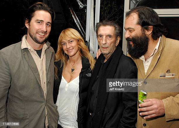 Luke Wilson Andrea Wilson Harry Dean Stanton and King Orba *Exclusive*