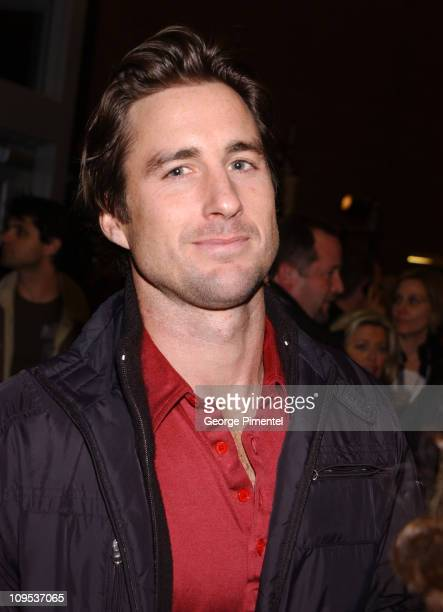 Luke Wilson during 2003 Sundance Film Festival 'Masked and Anonymous' Premiere at Eccles in Park City Utah United States