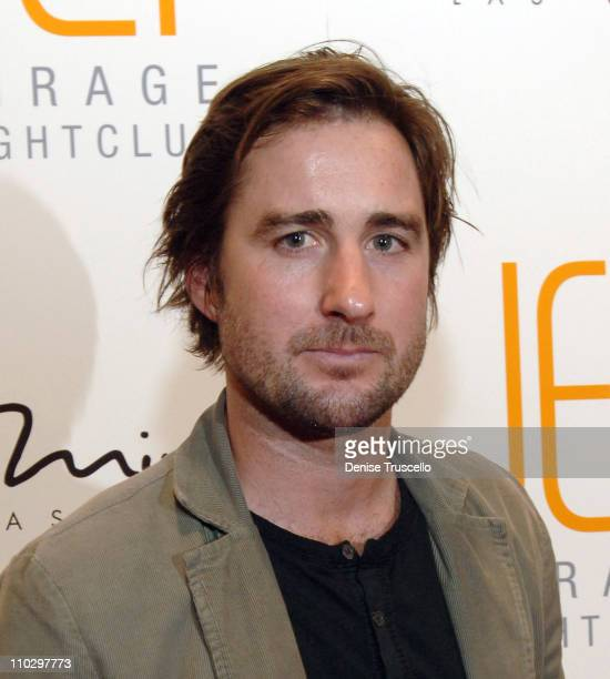 Luke Wilson during JET Nightclub First Anniversary Celebration Red Carpet at The Mirage Hotel and Casino Resort at The Mirage Hotel and Casino Resort...