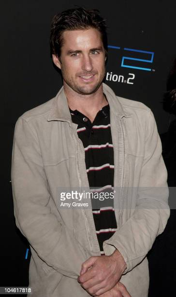 Luke Wilson during PlayStation2 and Guy Oseary Host Online Gaming Tournament for Charity at Private Residence in Beverly Hills, California, United...