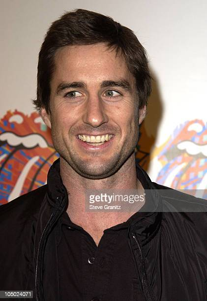 Luke Wilson during Rolling Stones Host 'Fashion And Licks 2002' Arrivals at Beverly Hilton Hotel in Beverly Hills California United States