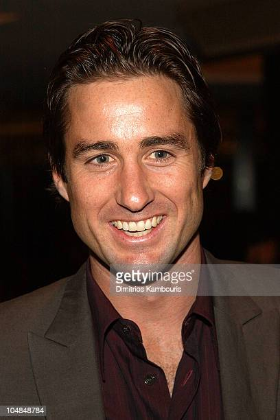 Luke Wilson during The 45th GRAMMY Awards Radio Room Day One at Madison Square Garden in New York City New York United States