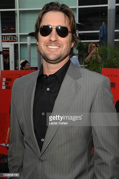 Luke Wilson during 'You Kill Me' Los Angeles Premiere Red Carpet at ArcLight Hollywood in Hollywood California United States