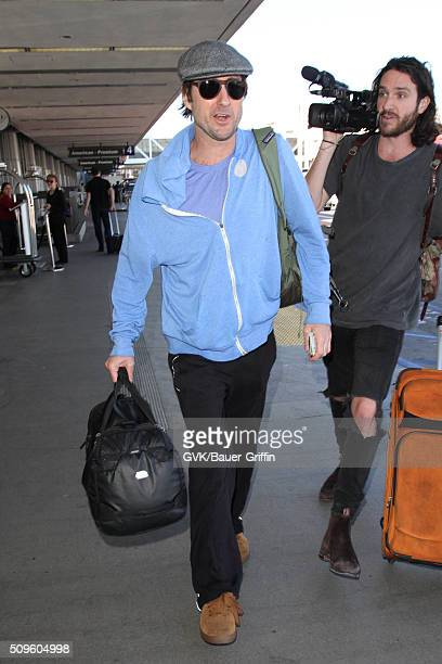 Luke Wilson is seen at LAX on February 11 2016 in Los Angeles California