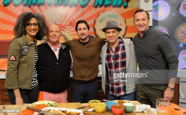 THE CHEW 2/15/17 Luke Wilson is the guest today February 15 2017 on ABC's 'The Chew' THE CHEW airs MF on the ABC Television Network KELLY