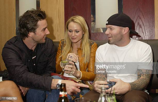 Luke Wilson Jewel and Fred Durst during Grand Opening of Caramel and PreParty Dinner for the OneYear Anniversary of LIGHT at The Bellagio at Caramel...