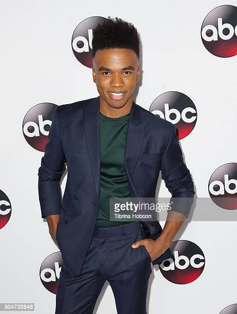 Luke Youngblood attends the Disney/ABC 2016 Winter TCA Tour at Langham Hotel on January 9, 2016 in Pasadena, California.