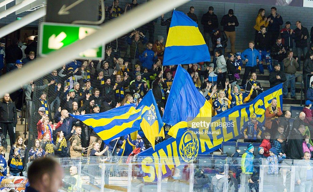Lukko Rauma v TPS Turku - Champions Hockey League Quarter Final : News Photo