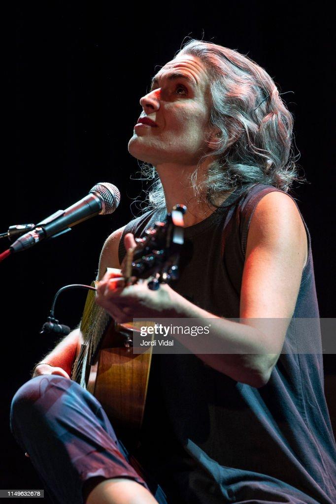 ESP: Lula Pena Performs In Concert In Barcelona