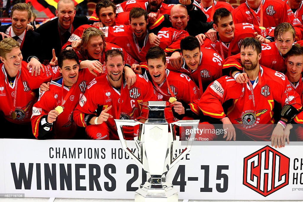 Lulea Hockey v Frolunda Gothenburg - Champions Hockey League Final : News Photo