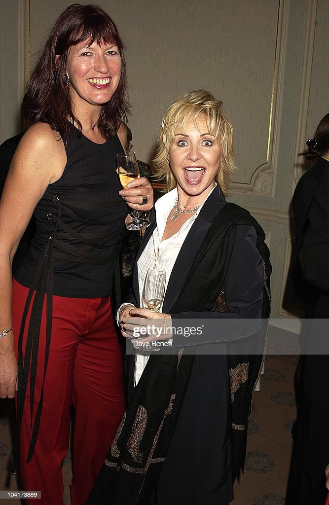Lulu And Janet Street Porter, The Premiere Of Shipping News Was Followed By A Glamorous Party At Clarridges Hotel In London.