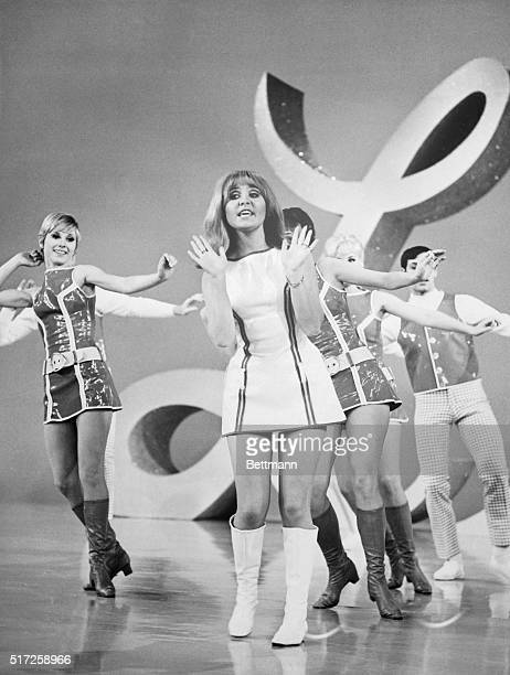 Lulu British actresssinger performing on the Red Skelton Hour TV Show