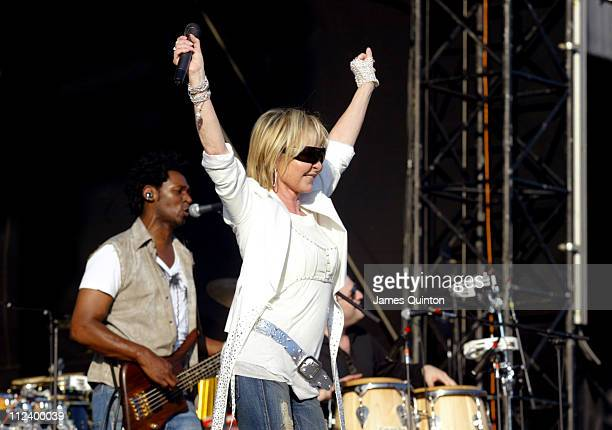 "Lulu during Elton John ""Let's Buy Back The Vic"" Fundraising Concert - June 18, 2005 at Vicarage Road Stadium in Watford, Great Britain."