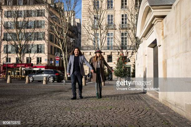 Lulu Gainsbourg and Aurelie Bossu are photographed for Paris Match on January 17 2018 in Paris France