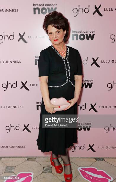 Lulu Guinness attends the launch of the new ghd x Lulu Guinness collection which raises money for Breast Cancer Now at One Belgravia on July 11 2018...